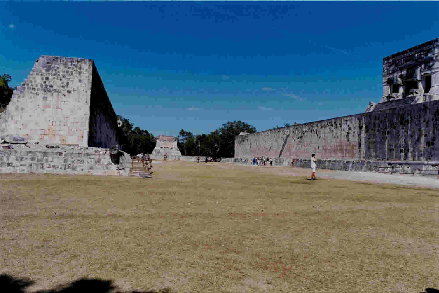 The Basketball Court at Chichen Itza