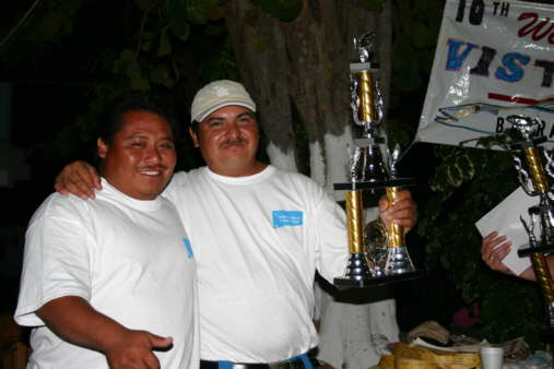 The Winning crew at the Barracuda Bash